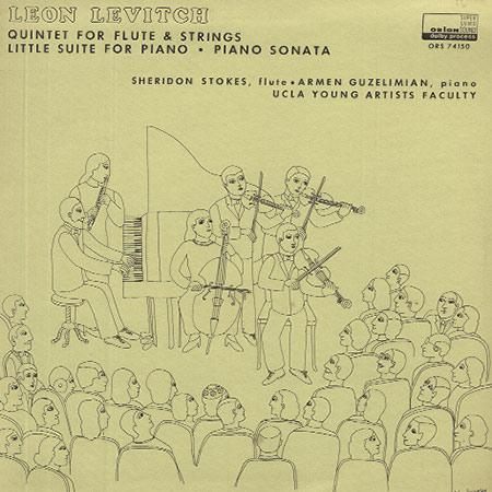 Stokes, Guzelimian , UCLA Young Artists Faculty - Levitch: Quintet for Flute and Strings etc.