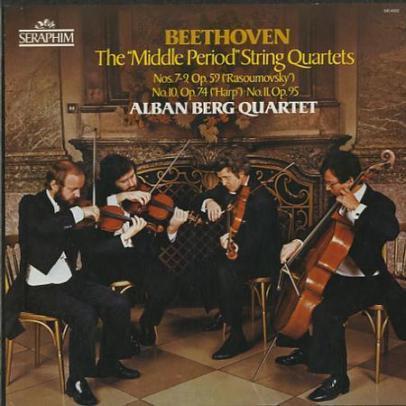 Beethoven Quartet - Ludwig van Beethoven - Quartets No. 9 For Two Violins Viola And Cello In C Major Op. 59 No. 3
