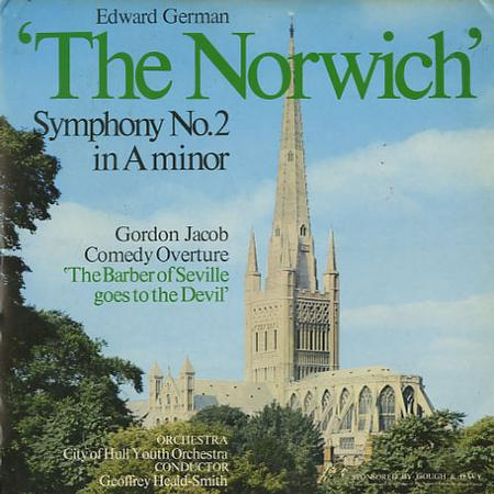 Heald-Smith, City of Hull Youth Orchestra - German: Symphony No. 2 The Norwich etc.