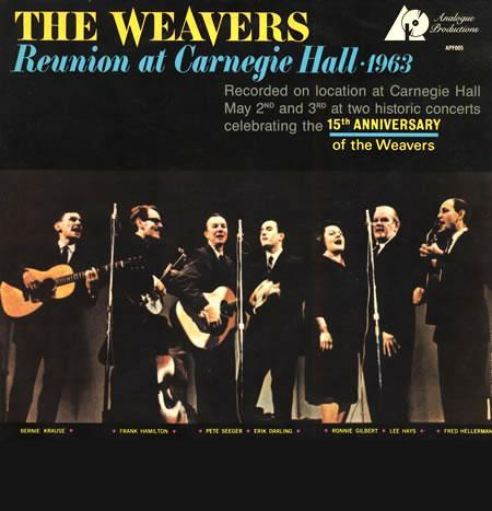 The Weavers - Reunion At Carnegie Hall, 1963