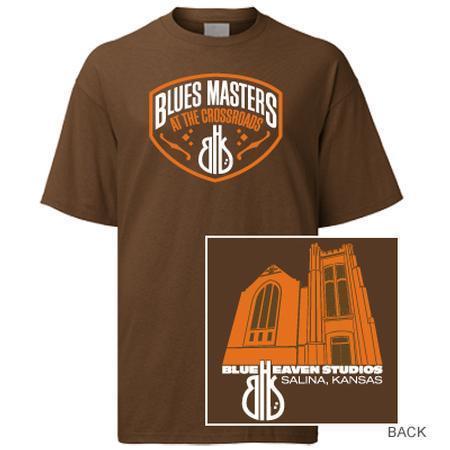 Blue Heaven Studios - Blues Masters at the Crossroads T-Shirt