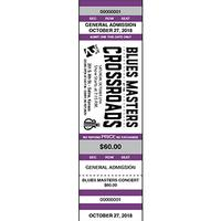 Blue Heaven Studios - Blues Masters 21 Concert Ticket