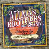 The Allman Brothers Band - American University 12-13-70