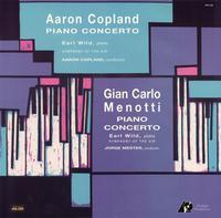 Aaron Copland - Copland/ Menotti: Piano Concerto/ Earl Wild