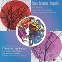 Vladimir Golschmann & Leopold Stokowski - Enesco: Rumanian Rhapsodies/ Stravinsky: L'Historie du Soldat