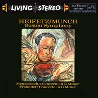 Charles Munch - Mendelssohn: Concerto in E Minor/ Prokofiev: Concerto No. 2 in G Minor - Jascha Heifetz, violin