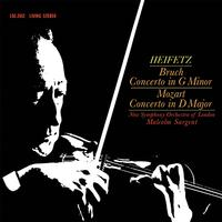 Heifetz-Sargent - Bruch: Concerto in G Minor/Mozart: Concerto in D Major -  200 Gram Vinyl Record