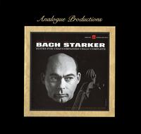 Janos Starker - Bach: Suites For Unaccompanied Cello Complete -  Vinyl Box Sets
