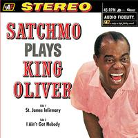 Louis Armstrong - Satchmo Plays King Oliver -  45 RPM Vinyl Record