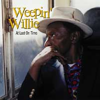Weepin' Willie - At Last On Time -  Vinyl LP with Damaged Cover
