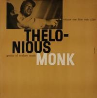 Thelonious Monk - Genius Of Modern Music Volume One
