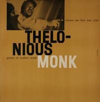 Thelonious Monk - Genius Of Modern Music Volume One