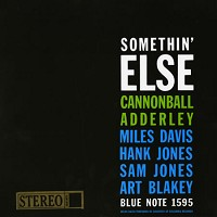 Cannonball Adderley - Somethin' Else -  45 RPM Vinyl Record