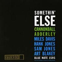 Cannonball Adderley - Somethin' Else -  45 RPM Vinyl Record
