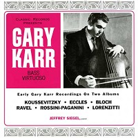 Gary Karr - Plays Double Bass -  200 Gram Vinyl Record