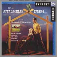 Walter Susskind - Copland: Appalachian Spring/ Gould: Spirituals for String Choir and Orchestra