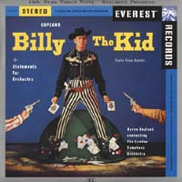 Aaron Copland - Copland: Billy The Kid Ballet Suite/ Statements for Orchestra