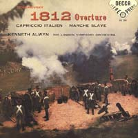 Kenneth Alwyn - Tchaikovsky: 1812 Overture, Capriccio Italien, & Marche Slave
