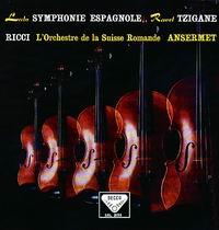 Ernest Ansermet - Lalo: Symphonie Espagnole/ Ravel: Tzigane/ Ruggiero Ricci, violin