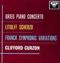 Clifford Curzon - Grieg: Piano Concerto/ Litolff: Scherzo/ Franck: Variations