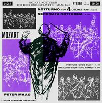 Peter Maag - Mozart: Notturno for Four Orchestras