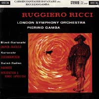 Pierino Gamba - Bizet-Sarasate: Carmen Fantaisie Op.25/ Ruggiero Ricci, violin