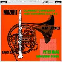 Peter Maag - Mozart: Clarinet Concertos