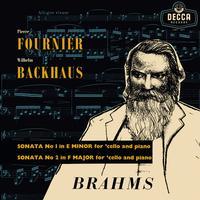 Pierre Fournier & Wilhelm Backhaus - Brahms: Sonatas For Cello And Piano -  180 Gram Vinyl Record