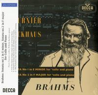 Pierre Fournier & Wilhelm Backhaus - Brahms: Sonatas For Cello And Piano