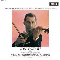 Rafael Fruhbeck De Burgos - Ion Voicou Mendelssohn Violin Concerto In E Minor & Bruch Violin Concerto No. 1 In G Minor -  180 Gram Vinyl Record