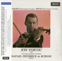 Rafael Fruhbeck De Burgos - Ion Voicou Mendelssohn Violin Concerto In E Minor & Bruch Violin Concerto No. 1 In G Minor