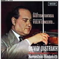 Horenstein/ Hindemith - Bruch: Scottish Fantasia/ Hindemith: Violin Concerto