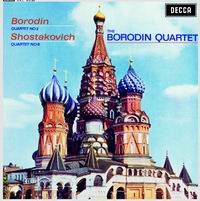 Borodin Quartet - Borodin: String Quartet No. 2 in D/ Shostakovich: String Quartet No. 8, op. 110