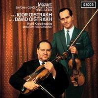 Kiril Kondrashin - Mozart: Sinfonia Concertante/ David & Igor Oistrakh, viola & violin
