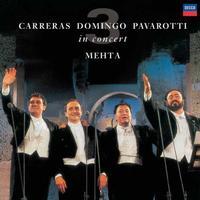Luciano Pavarotti, Plácido Domingo, José Carreras and Zubin Mehta - The Three Tenors 25th Anniversary