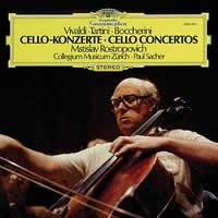 Mstislav Rostropovich - Vivaldi, Tartin, Boccherini: Cello Concertos
