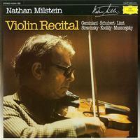 Nathan Milstein - Violin Recital