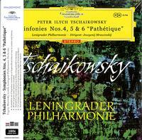 Evgeny Mravinsky - Tchaikovsky: Sinfonies Nos. 4, 5 & 6/ Pathetique