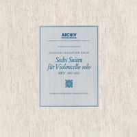 Pierre Fournier - Bach: 6 Cello Suites