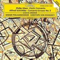 Christoph von Dohnanyi - Glass:Violin Concerto/Schnittke:Concerto Grosso