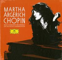 Martha Argerich - Chopin: Martha Argerich Solo & Concerto Recordings on Deutsche Grammophon