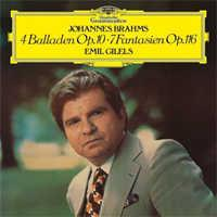 Emil Gilels - Brahms: 4 Ballades Op.10, 7 Fantasias Op. 116