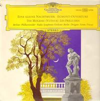 Ferenc Fricsay - Mozart: Serenade In G, K.525 'Eine kleine Nachtmusik' / Beethoven: Music To Goethe's Tragedy 'Egmont', Op.84 / Smetana: The Moldau, JB 1:112 / Liszt: Les Preludes,S.97
