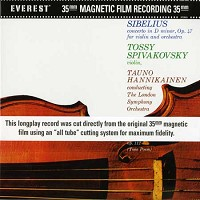 Tauno Hannikainen - Sibelius: Concerto in D Minor
