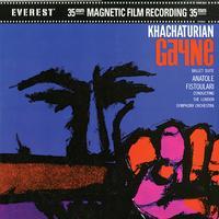 Anatole Fistoulari - Khachaturian: Gayne Ballet Suite -  45 RPM Vinyl Record
