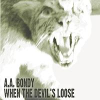 A.A. Bondy - When The Devil's Loose -  Vinyl LP with Damaged Cover