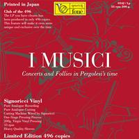 Marco Serino - I Musici - Concerts And Follies In Pergolesi's Time