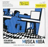 Petra Magoni and Ferrucio Spinetti - Musica Nuda -  180 Gram Vinyl Record