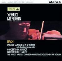 Yehudi Menuhin - Bach: Violin Concerto/ Robert Masters Chamber Orchestra/ Christian Ferras