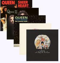 Queen - Set of 5 Titles